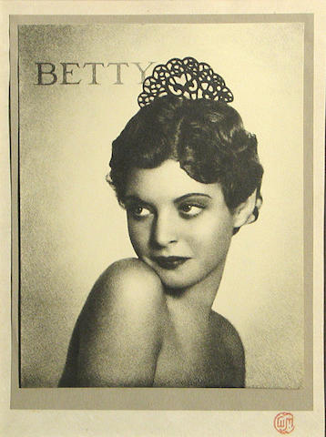 William Mortensen (American, 1897-1965); Betty;
