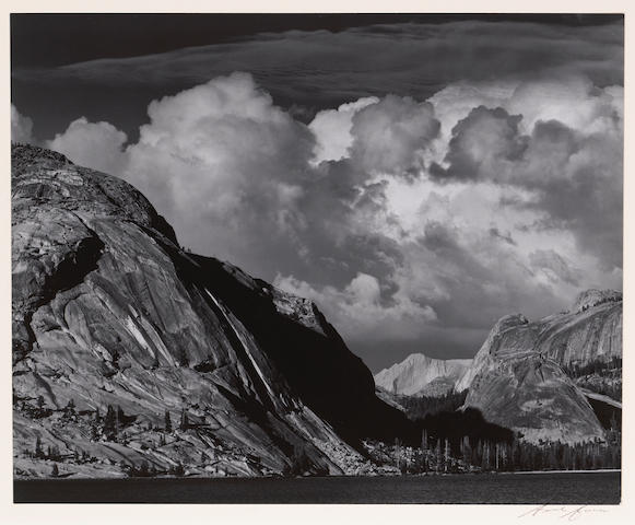 Ansel Adams (American, 1902-1984); Lake Tenaya;