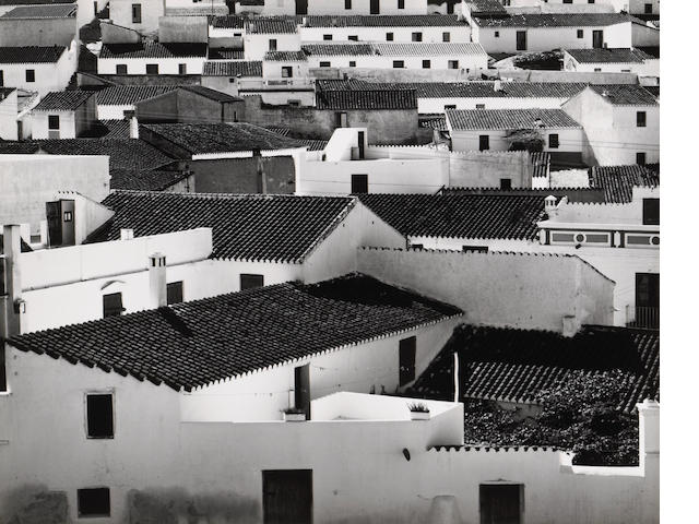 Brett Weston (American, 1911-1993); Rooftops, Spain;