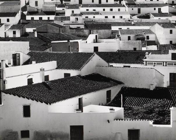 Brett Weston (American, 1911-1993); Rooftops, Spain;