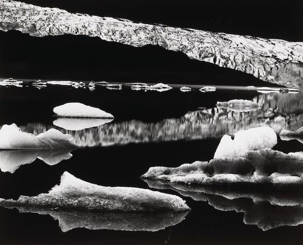 Brett Weston (American, 1911-1993); Mendenhall Glacier, Alaska;