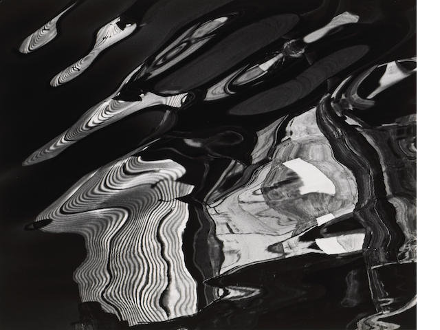 Brett Weston (American, 1911-1993); Abstraction; (2)