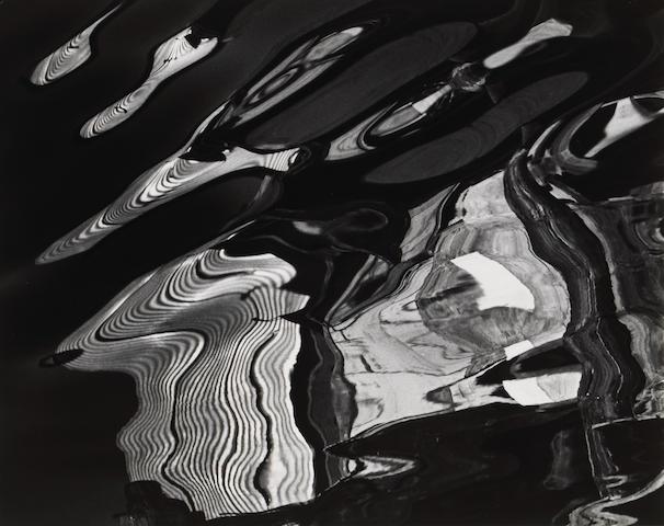 Brett Weston (American, 1911-1993); Abstraction; (2)