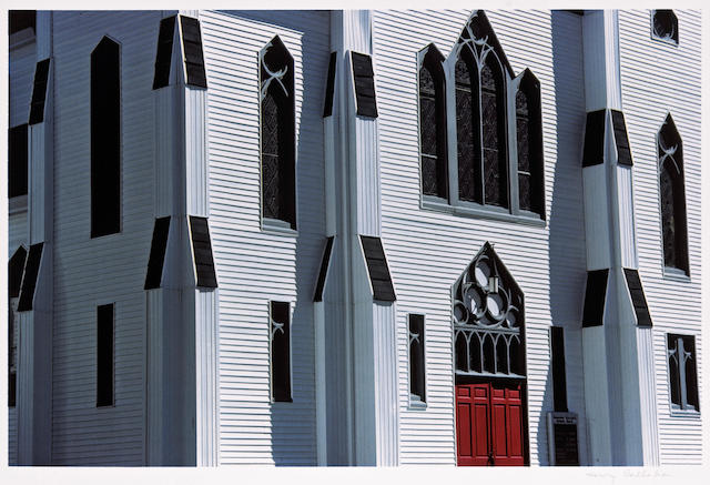 Harry Callahan (American, 1912-1999); Church Facade;