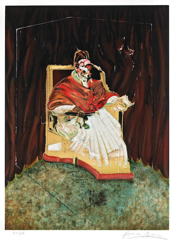 Francis Bacon (British, 1909-1992); Study for a Portrait of Pope Innocent X;