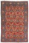 A part silk Tehran carpet Central Persia, size approximately 6ft. x 9ft.