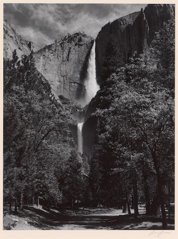 Ansel Adams (American, 1902-1984); Yosemite Falls;