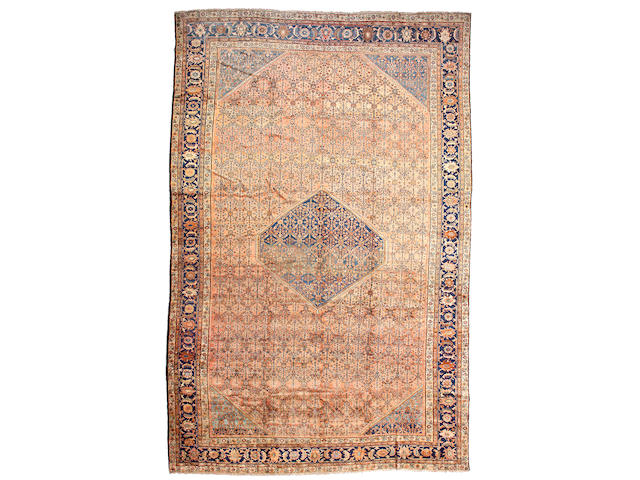 A Mahal carpet Central Persia, size approximately 10ft. 10in. x 16ft. 10in.