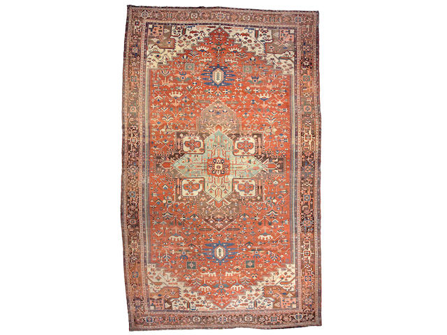 A Serapi carpet Northwest Persia, size approximately 11ft. 6in. x 18ft. 11in.