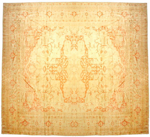 An Agra carpet North India, size approximately 14ft. 2in. x 16ft.