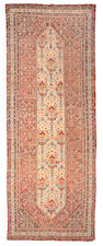 A Malayer long carpet Central Persia, size approximately 4ft. 5in. x 17ft. 3in.