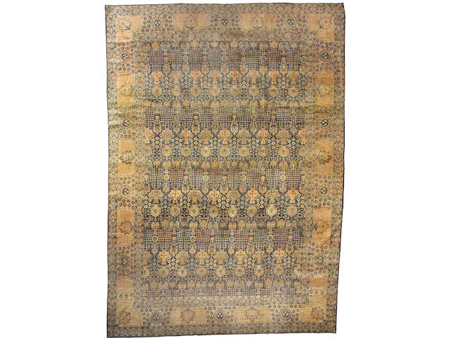 A Tabriz carpet Northwest Persia, size approximately 10ft. 10in. x 15ft.
