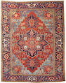 A Heriz carpet Northwest Persia, size approximately 9ft. 7in. x 12ft. 3in.