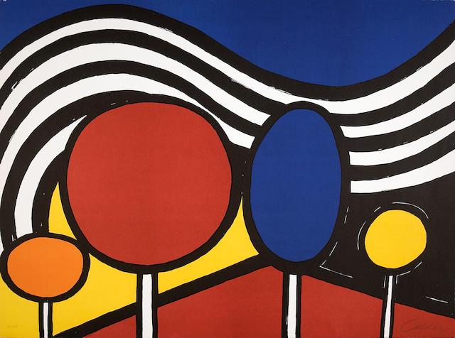 Alexander Calder (American, 1898-1976); Lollipops;