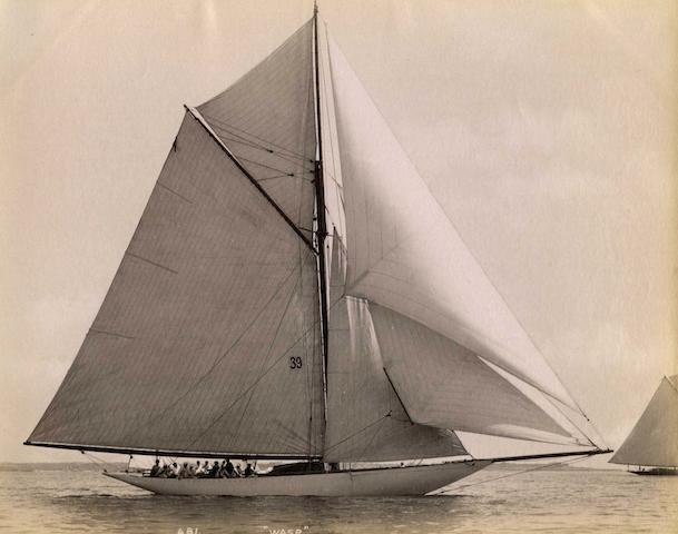 John S Johnston (American, 1839-1899) 6 ½ x 8 ¼ in (16.5 x 21cm) 3