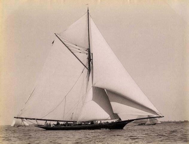 John S Johnston (American, 1839-1899) 6 ½ x 8 ¼ in (16.5 x 21cm) 4