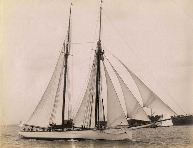 John S Johnston (American, 1839-1899) 6 ½ x 8 ¼ in (16.5 x 21cm) 5