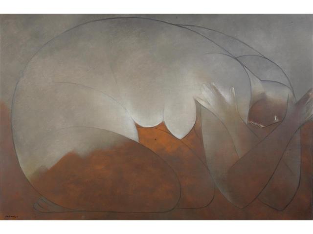 Ricardo Martínez (Mexican, born 1918) Desnudo, 1976 39 3/8 x 59 1/16in (100 x 150cm)