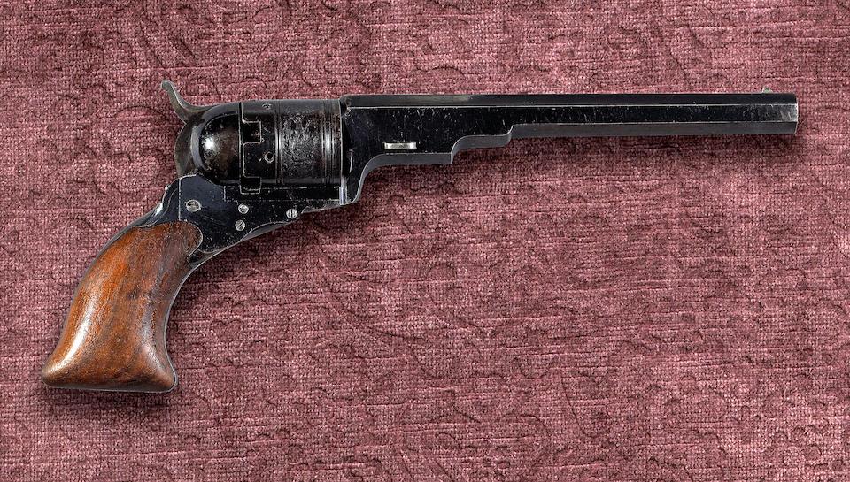 A fine cased Colt No. 5 Holster Model 'Texas Paterson' percussion revolver