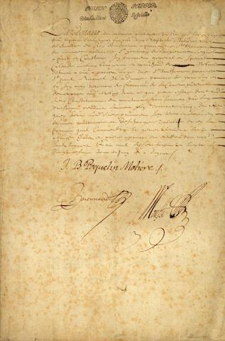 MOLIERE [JEAN BAPTISTE POQUELIN DE.] 1622-1673.