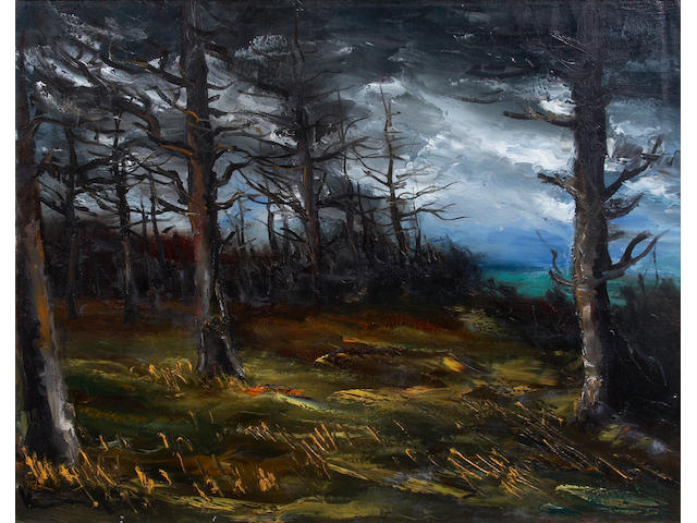 Maurice de Vlaminck (French, 1876-1958) Edge of the Forest