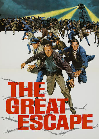A great escape poster from Steve McQueen,