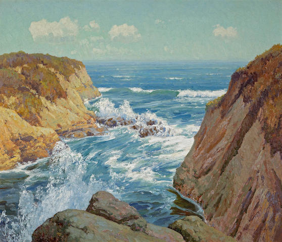 Maurice Braun (American, 1877-1941) Point Loma, 1914 36 x 42in