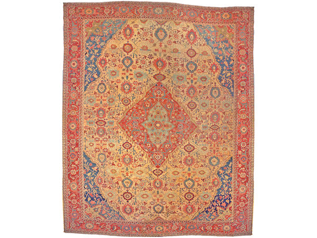 A Serapi carpet Northwest Persia, size approximately 15ft. x 18ft. 4in.