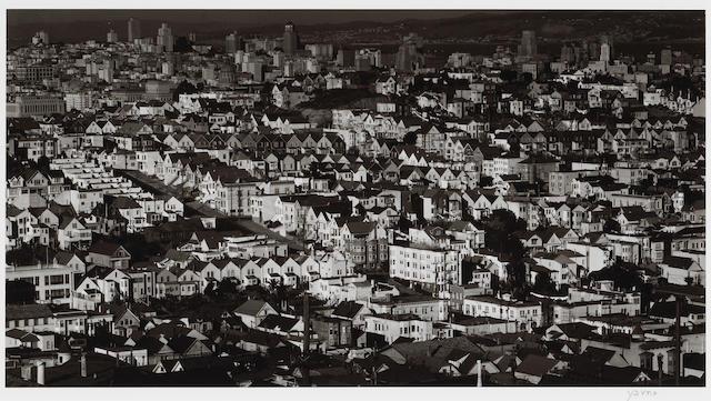 Max Yavno (American, 1911-1985); View from Liberty Hill, San Francisco;
