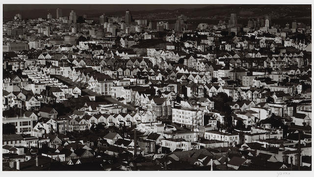 Max Yavno (American, 1911-1985); View from Liberty Hill, San Francisco;