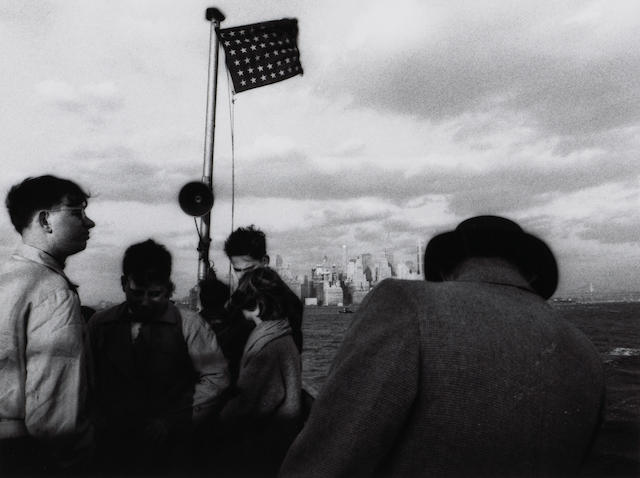 William Klein (American, born 1928); Staten Island Ferry, New York;