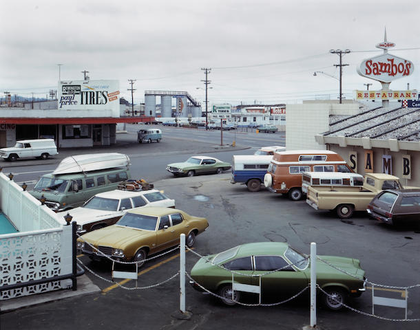 Stephen Shore (American, born 1947); Fifth Street & Broadway, Eureka, California, September 2;