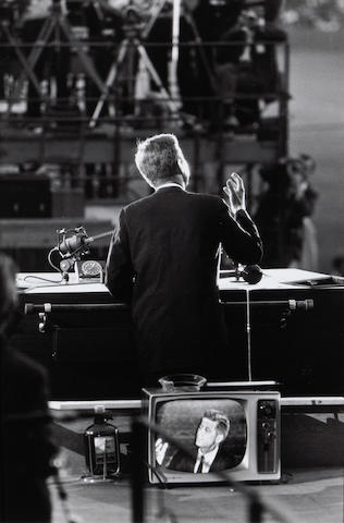 Garry Winogrand (American, 1928-1984); John F. Kennedy, Democratic Convention;