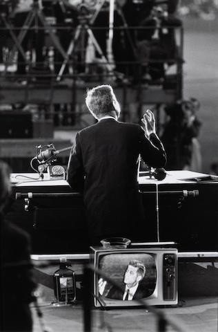 Garry Winogrand (American, 1928-1984); John F. Kennedy, Democratic Convention;