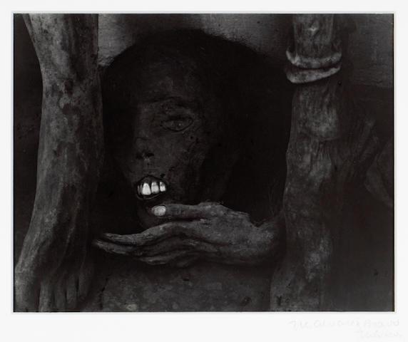 Manuel Alvarez Bravo (Mexican, 1902-2002); Retrato Póstumo (Posthumous Portrait);