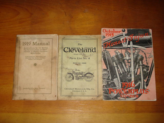Three Motorcycle publications,