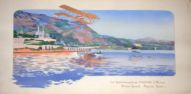 Les Hydroaeroplanes Farman a Monaco,