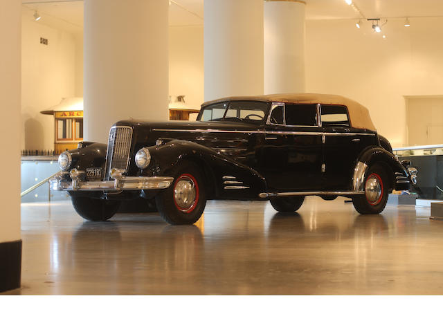 1936 Cadillac Series 90 Convertible Sedan  Chassis no. 51102222