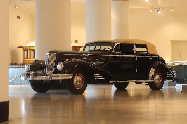 1936 Cadillac Series 90 Convertible Sedan  Chassis no. 51102222
