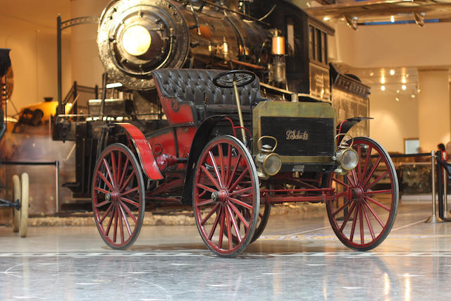 In the Museum's collection since 1941,1907 Schacht Model K Runabout  Chassis no. to be advised