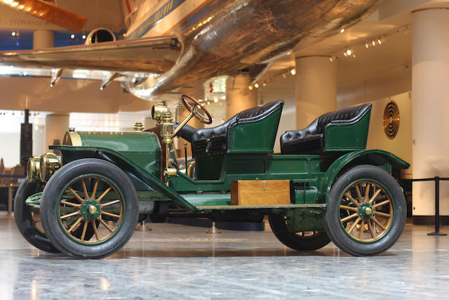 In the Museum's collection since 2000,1911 Stoddard Dayton Model 20 Commercial Wagon  Chassis no. 1422471