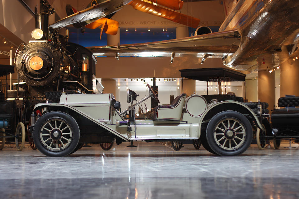 The ex-D. Cameron Peck, in the museum's collection since 1949,1913 National Series V, Type N3 Model 40 Semi-Racing Type Roadster  Chassis no. 10316