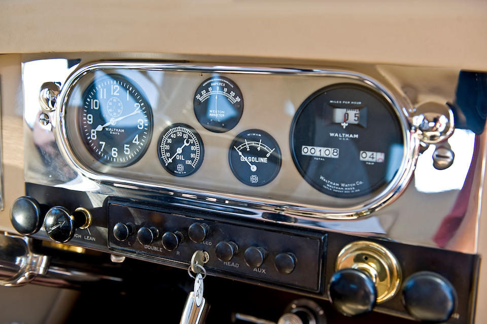 1922 Pierce-Arrow Series 33 Touring Sedan  Chassis no. 332157
