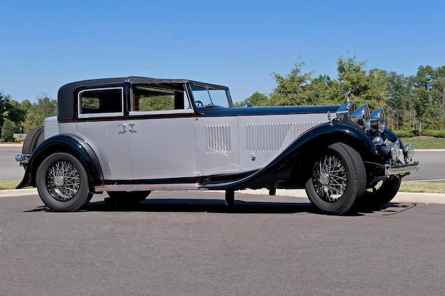 1931 Rolls-Royce Phantom II Sedanca De Ville  Chassis no. 4JS