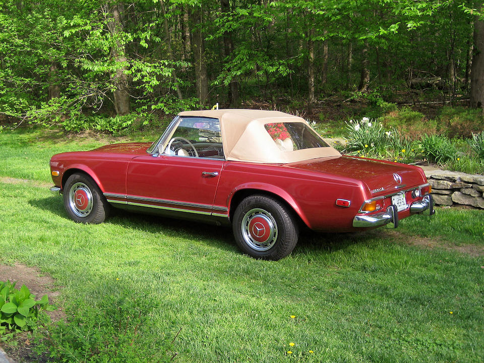 1970 Mercedes-Benz 280SL Roadster  Chassis no. 11304410016003 Engine no. 13098310005993