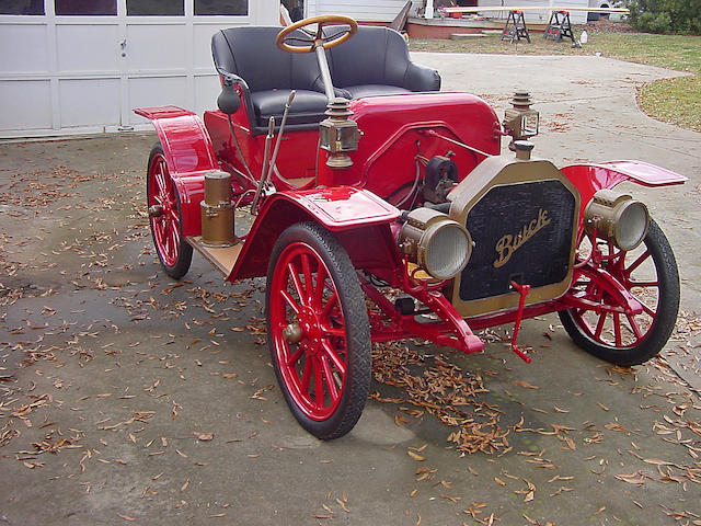 1910-11 Buick Model 14 Buggyabout  Chassis no. 2162 Engine no. 2162