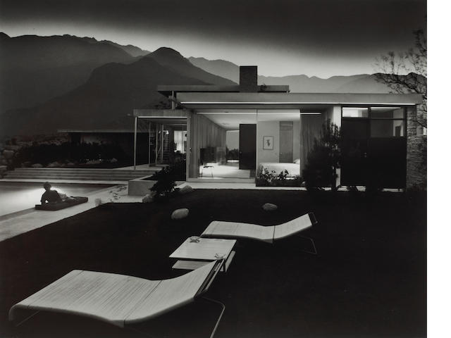 Julius Shulman (American, born 1910); Kaufman House, Richard Neutra, Palm Springs, California;