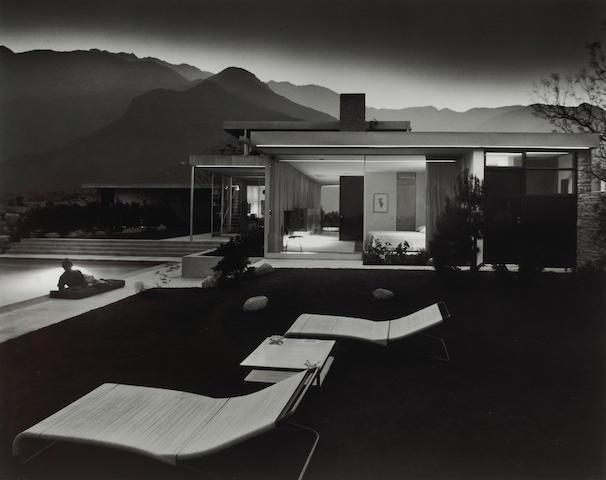 Julius Shulman (American, born 1910); Kaufman House, Richard Neutra, Palm Springs, California;