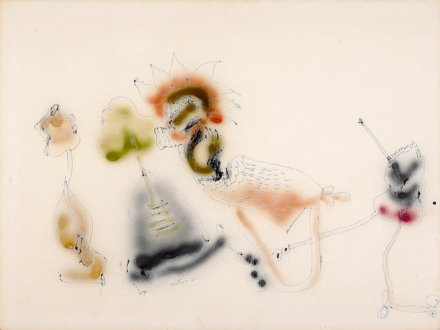 John Altoon (American, 1925-1969) Untitled (from H & S), 1965 30 x 40in (76 x 102cm)