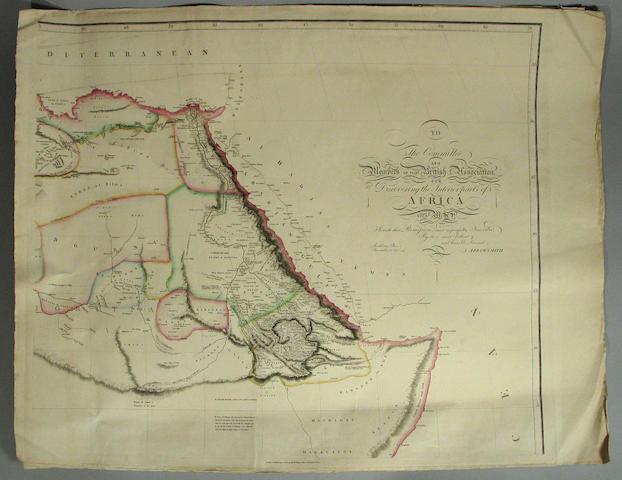 ARROWSMITH, AARON.  1750-1833.